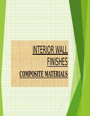 INTERIOR WALL FINISHES ppt Kagz.ppt