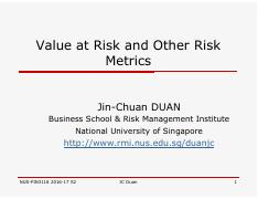JCD_Value at Risk and Other Risk Metrics.pdf