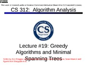 Lecture19-greedy-minspanningtree