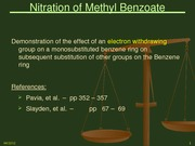 nitrationofmethylbenzoate