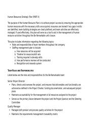 BSBHRM602 - Manage Human Resource Strategic Planning A1.docx