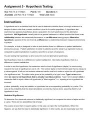 Assignment 5 - Hypothesis Testing_ 2202-NURS-5366-400-PRINC OF RESEARCH IN NURSING.pdf