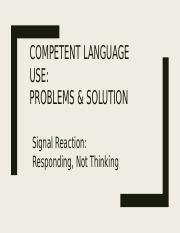 Competent Language Use Signal Reactions.pptx