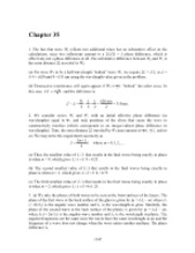 PHY2049 Chapter 35 Solutions