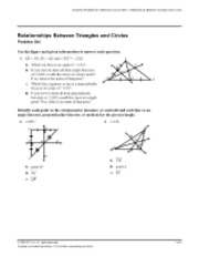 triangle bisectors homework key - Answers Chapter 5 ...