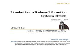 ISYS1000.2017-1.Lecture11-1pp