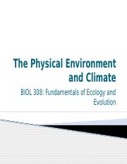 9-Physical Environment and Climate