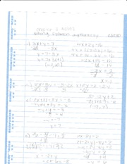 Intensive Math Chapter 3 Notes