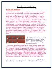 Genetics and blood typing.docx