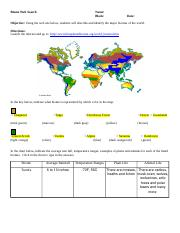 What_is_a_Biome.docx - The Worlds Terrestrial Biomes ...