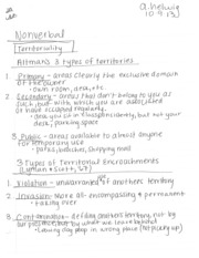 nonveral communication 10_9 notes