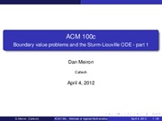 ACM Notes & Solutions