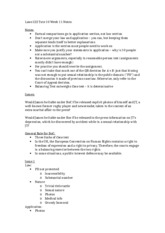 Laws122 AvB Tute 10 Week 11 Notes
