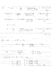 Chem 2030 Final Exam F06 Solutions