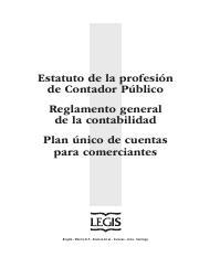 Puc 2011 Pdf Estatuto De La Profesión De Contador Público