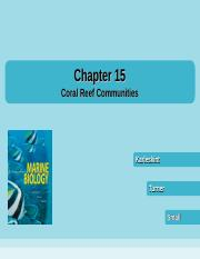 chapter15 coral reefs