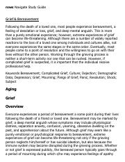 Grief & Bereavement Research Paper Starter - eNotes.pdf
