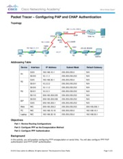 3.3.2.7 Packet Tracer - Configuring PAP and CHAP Authentication Instructions.pdf