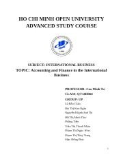 Accounting & Finace in IB (1)