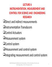 MSE 804 LECTURE 6 Instrumentation and Measurements.pptx