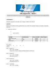 Solutions - LabAssignments-week9.docx