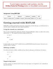 using MATLAB-2