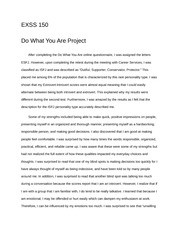 Do What You Are Write-Up