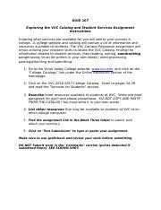 Exploring the VVC Catalog and Student Services(1)