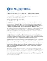 100-2014 WSJ BECKER AND ELIAS CASH FOR ORGANS JAN 17 2014.pdf