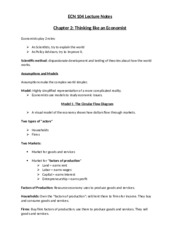 ECN 104 Lecture Notes