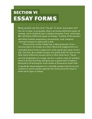 Section6_Essay_Forms