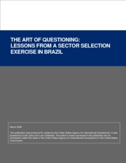 Art Of Questioning - Brazil Exercise