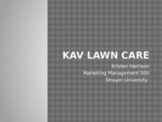 KAV Lawn Care