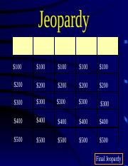 Launching a Nation Review Jeopardy.pptx