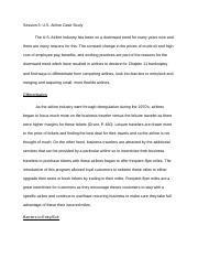 US Airline Case Study.docx