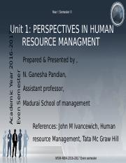 unit1perspectivesinhumanresourcemanagement-170128060124.pptx