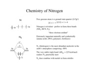 Dissecting Nitrogen notes