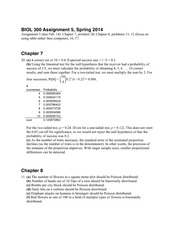 Assignment 5 Solution