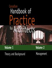 Canadian Handbook of Practice for Architects - School of Architecture ( PDFDrive.com ).pdf