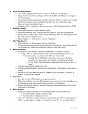 Exam 1 Study Guide - Myth of Ritual Murder