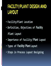 Plant Layout and Design Lecture _ DEC 2017  PART I.pdf