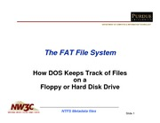 FAT File System analogy
