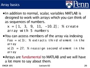 Lec02 - Machine model, Matlab introduction, and arrays.20