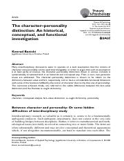 The character–personality.pdf
