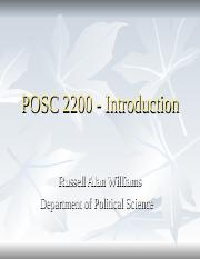 POSC 2200 - Introduction.ppt