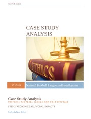 Assignment #3 - Case Study NFL
