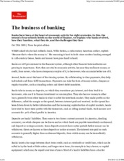 The Economist - The Business of Banking-1