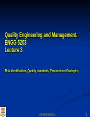 L03  ENGG 5203 S2 17 PPT Qualiity Management Risk, Quality and Procurement Management(1).ppt