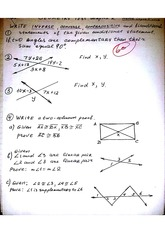Geometry Test Chapter 2