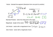 PreCalculus Notes 6-3 Vectors in a Plane v1